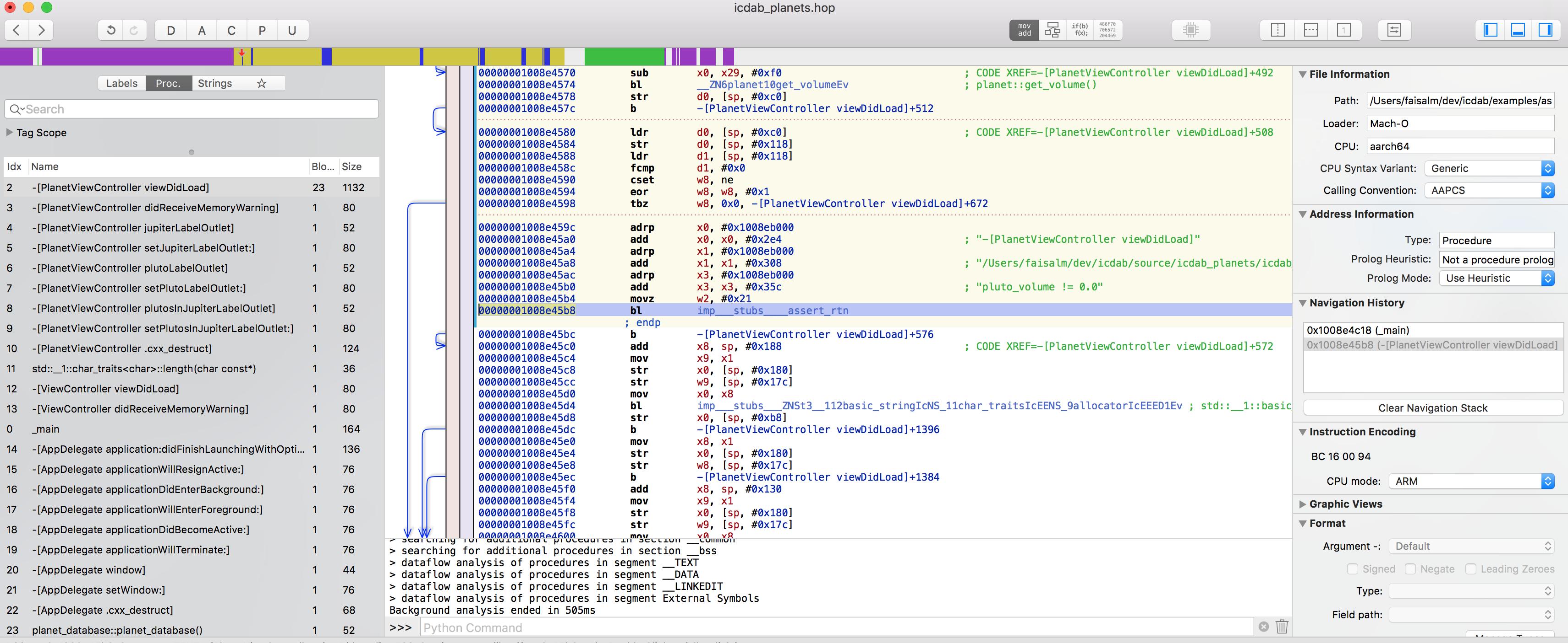 iOS Crash Dump Analysis
